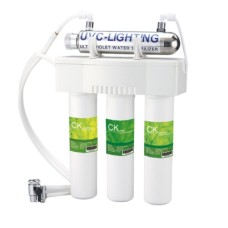 THREE STAGE FILTRATION WITH UV LAMP - 3F+UV